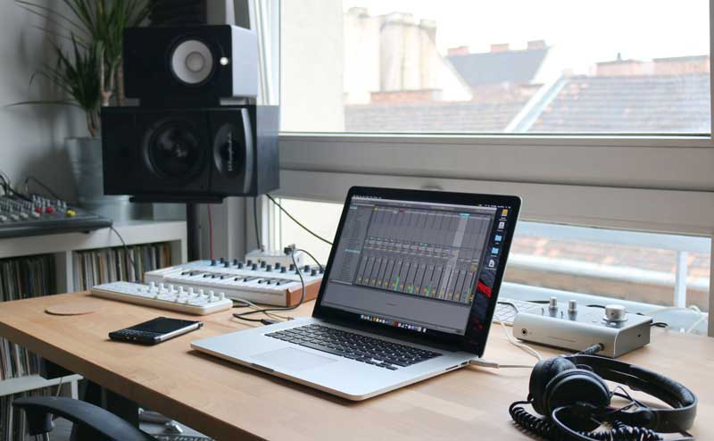 how to make a recording studio in your home