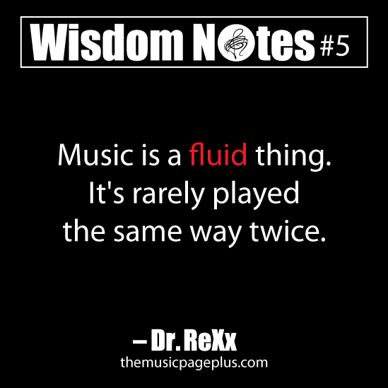 Music Is A Fluid Thing